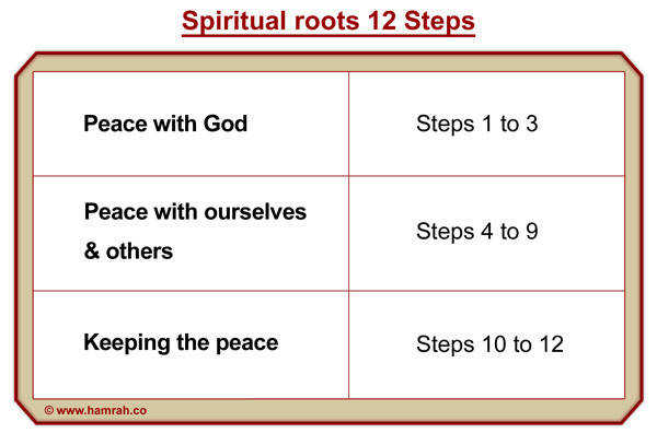 Spiritual peinciples and Roots 12 Steps