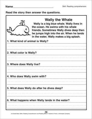 Image result for 1st grade fluency and prehension passages