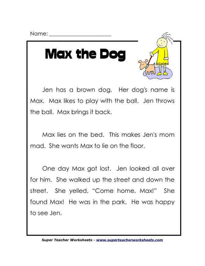 1st Grade Reading Worksheets Free Lots More prehension Passages For Kindergarten A7f438df1f f182c6dca39 Reading prehension Worksheet