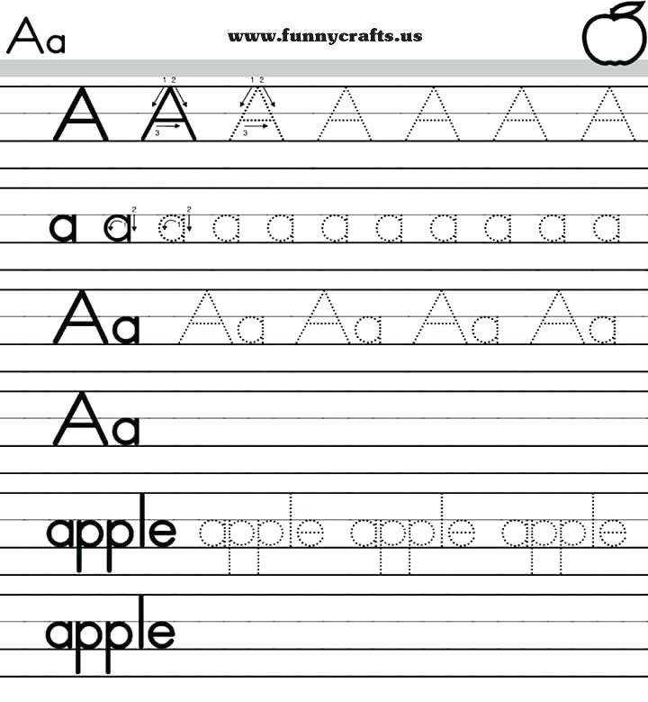 letter a worksheet alphabet handwriting worksheets a to z for preschool to first grade a letter