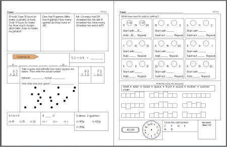 New Second Grade Math Workbook Created