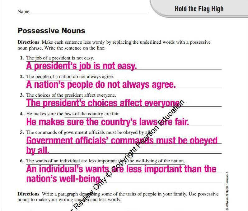 What do you think about English worksheets for third graders being used as a tool for political indoctrination