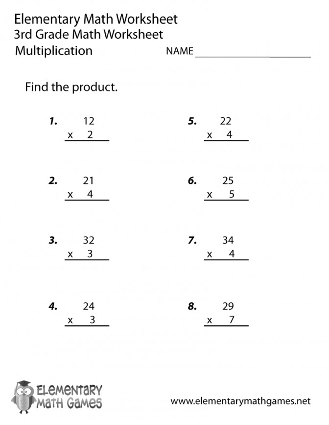 Third Grade Multiplication Worksheet Printable Kelpies Worksheets 3rd 100 Pro Multiplication Worksheets 3rd Grade Worksheet Medium