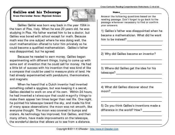 Reading prehension Worksheets 9th Grade · Reading prehension Grade 3 Worksheets