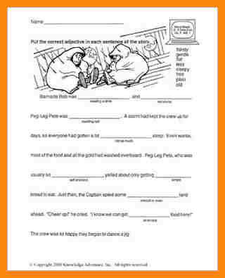 3rd grade reading worksheetsnd ahoy word usage. 4 3rd grade reading worksheets ...