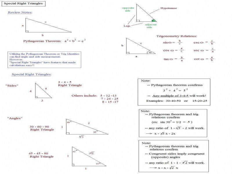 Math Plane Means Extremes And Right Triangles Altitude To