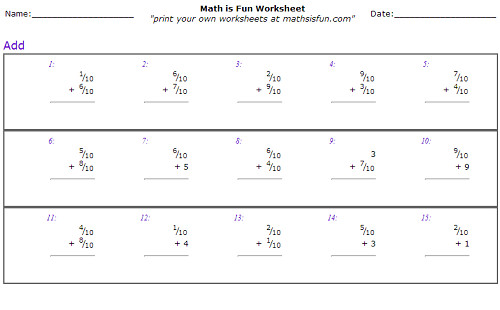 All 4th Grade line Math Worksheets