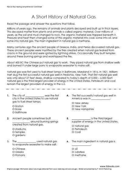 Awesome Collection of 4th Grade Reading prehension Worksheets With Answers With Additional Template