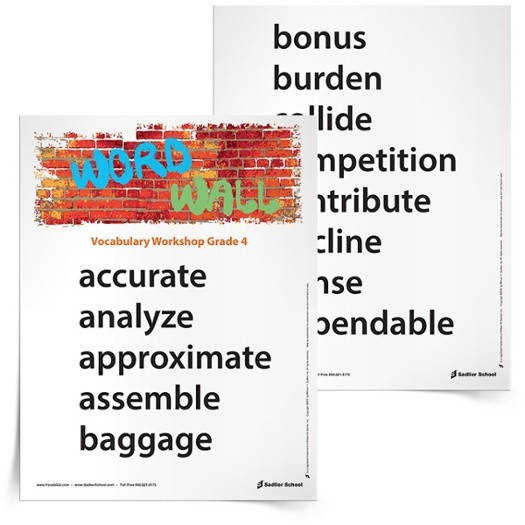 Grade Vocabulary Worksheets Also Worksheet Source · Word walls are amazing teaching tools With them both students and teachers have a