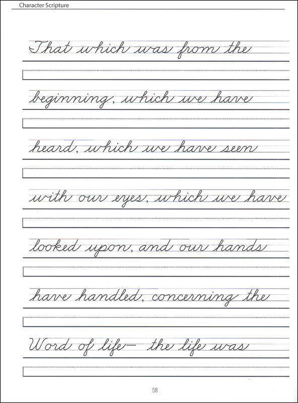 Handwriting Worksheets 4th Grade Samsungblueearth