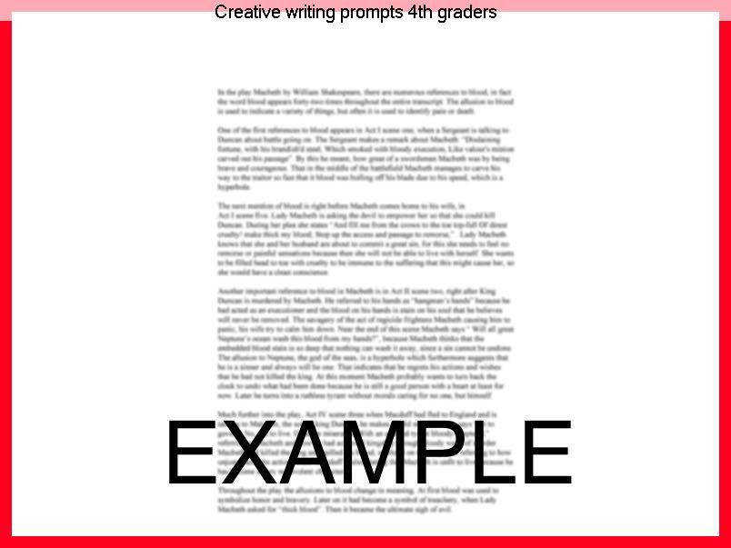 Creative Writing Prompts 4th Graders Fourth Grade Worksheets And Help: Fourth Grade Writing Worksheets At Alzheimers-prions.com