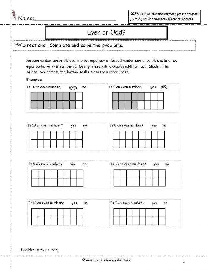 5th Grade mon Core Math Worksheets 5th Grade mon Core Math Worksheets Ccss2oa3evenodd1 Ccss 2 3