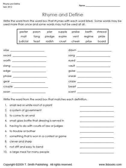 Free printable worksheets for 5th grade grammar