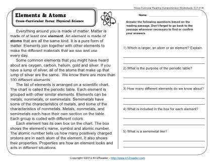 About this Worksheet Week 7 Reading prehension