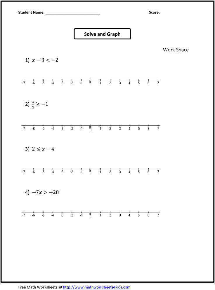 6Th Grade Free Math Worksheets 35