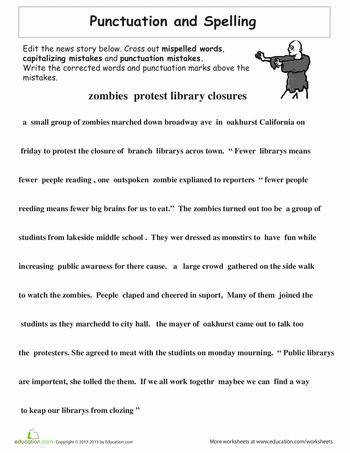6th Grade Grammar Worksheets Gallery 6th Grade Grammar Worksheets For Kids Picture Proofreading Practice Punctuation And