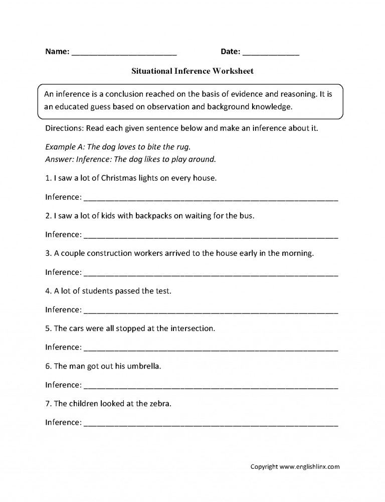 6th Grade Reading prehension Worksheets With Answers