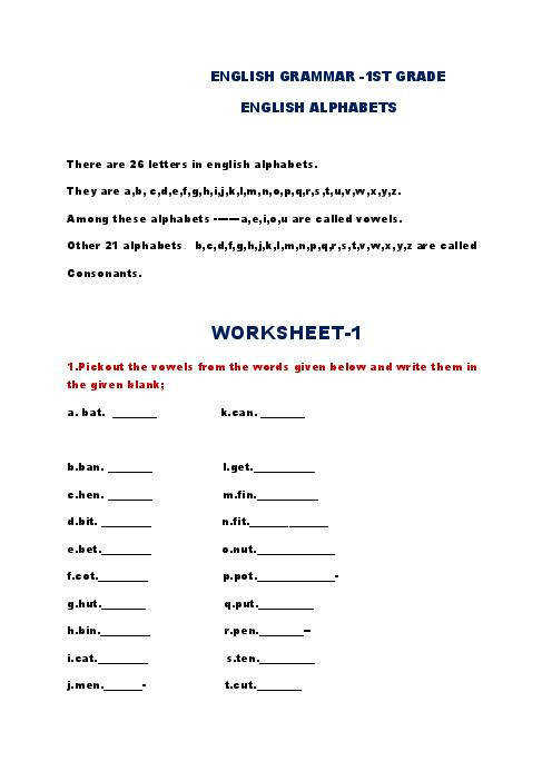 HAPPY FEET CREATIVE GRAMMAR WORKSHEETS