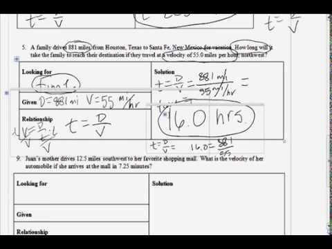7th grade science speed worksheet part 2