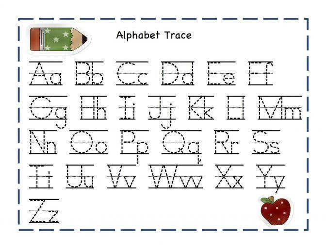 Fun Learning With Abc Tracing Worksheets Loving Printable Free For Preschoolers Alphabets S Free Printable Worksheets