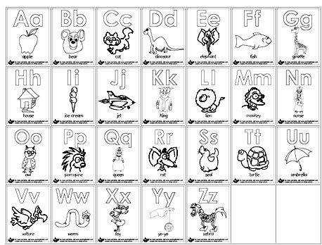 Free Worksheets abc worksheet for preschool Homeschool Parent Printable Alphabet Coloring Pages