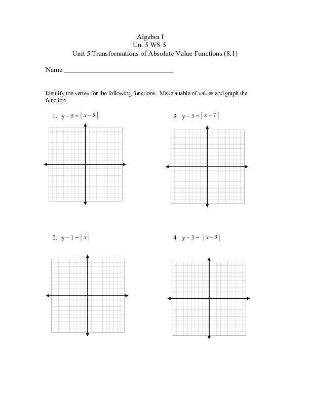 absolute value equations worksheet. Black Bedroom Furniture Sets. Home Design Ideas