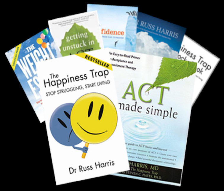 Author of the world s best selling ACT book The Happiness Trap