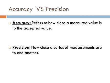 All Worksheets accuracy vs precision worksheet answers HONORS CHEMISTRY August 3 4