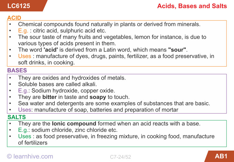 Science Acids Bases and Salts