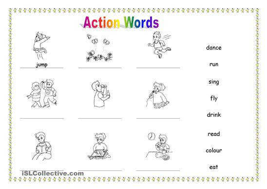 what are action verbs english grammar notes english grammar noun