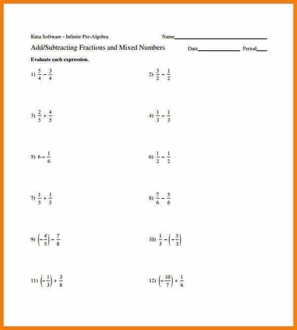 adding and subtracting fractions worksheets pdf 0