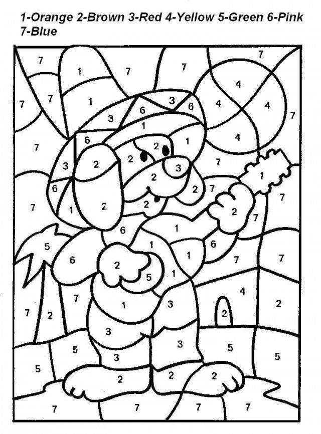 Math Addition Coloring Pages AZ Coloring Pages