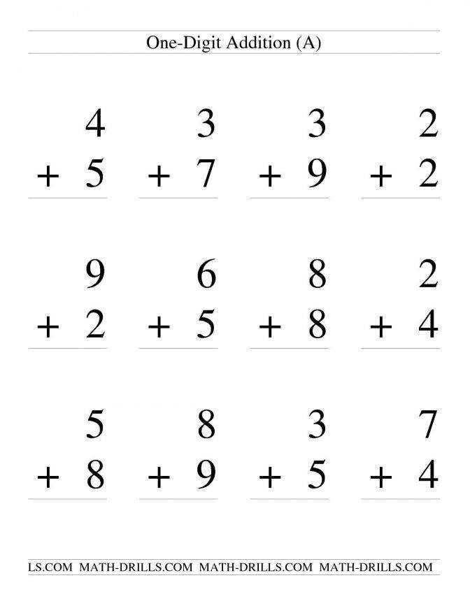 Single Digit Addition Some Regrouping 12 Per Page A Math Column Carrying Worksheets 594f5d47fc d7b7c1eac205 Carrying Addition