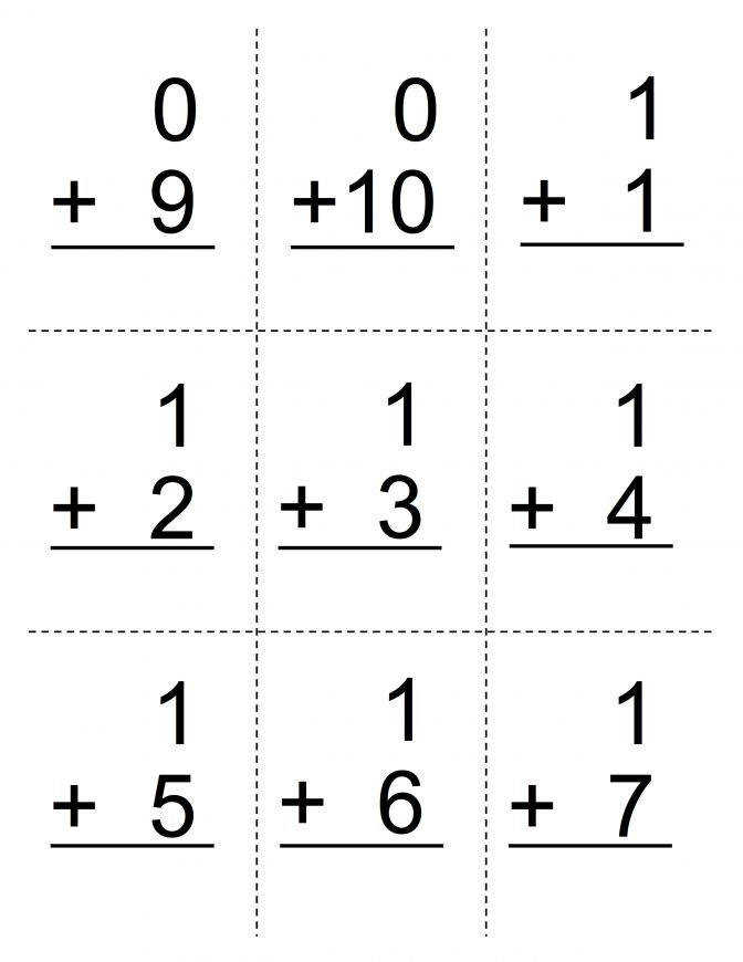 Worksheet Printable Addition Flash Cards 0 10 Wosenly Free Domino Worksheets First Grade Resource 15d4bc50 B5bb
