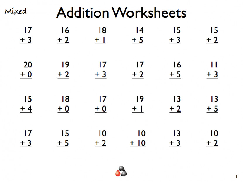 Geography Blog Math Addition Worksheets First Grade mon Core Printable Fo