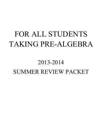 Algebra 1 review worksheets intrepidpath q4 benchmark for kids teachers