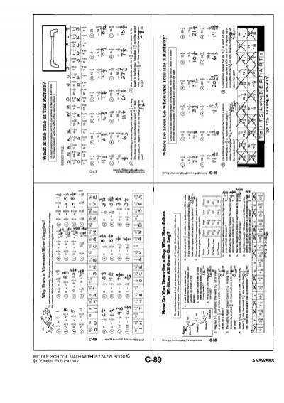 Algebra With Pizzazz Worksheet Answers Templates and Worksheets