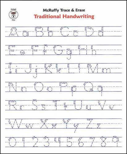 Alphabet Handwriting Worksheets For Kindergarten Crystal Hoffman