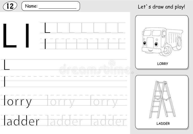 alphabet tracing worksheet. Black Bedroom Furniture Sets. Home Design Ideas