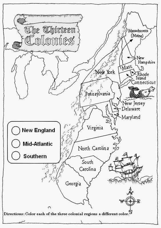 A Thirteen Colonies map worksheet would be crucial for learning about the colonies and their locations