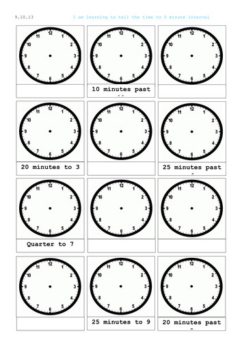 Reading a clock telling time analogue and digital by mip2k Teaching Resources Tes
