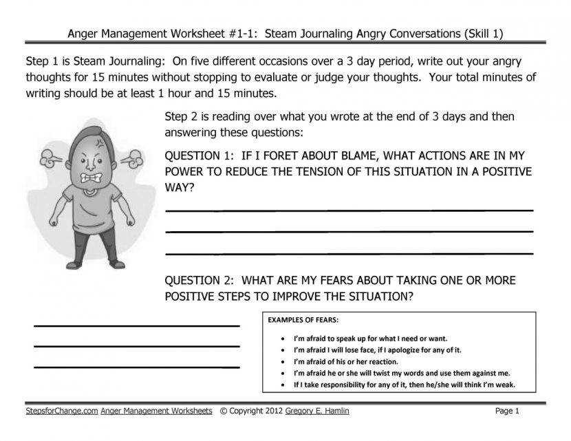 Extra Credit Work Sheets Lessons Tes Teach Anger Management Lesson Plans For Adults Worksheet