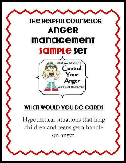 Anger management printable