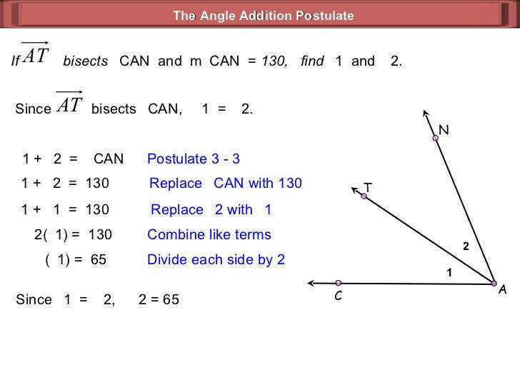 Geometry Angle Addition Postulate Worksheet Answers segment