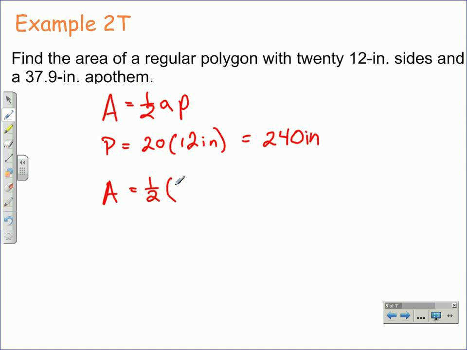 How to Find the Area of Regular Polygons