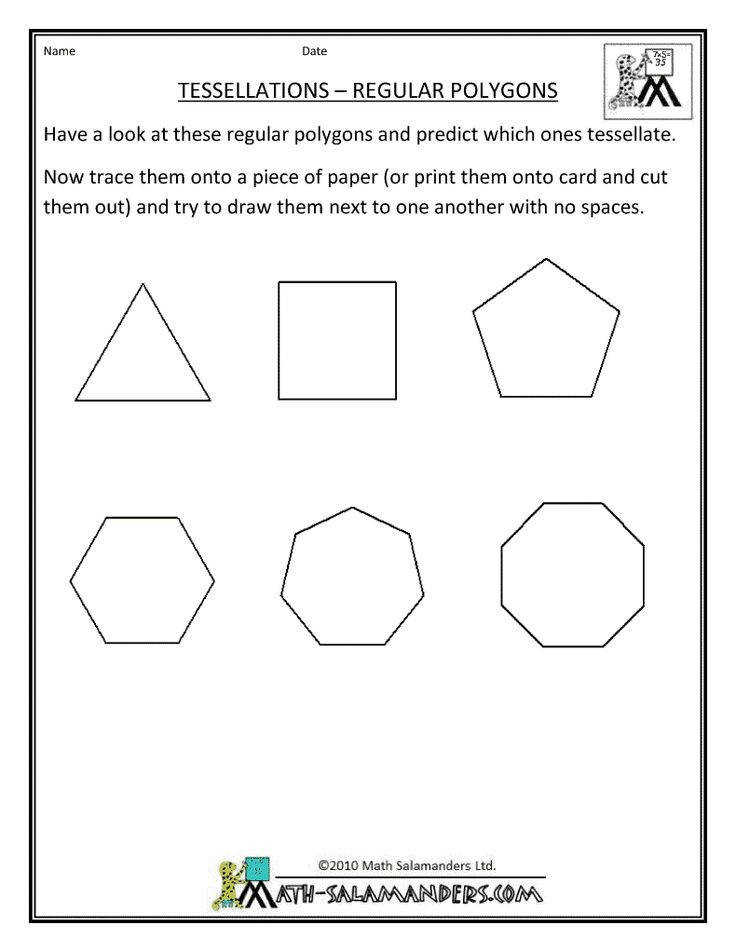 Area Of Regular Polygons Worksheet Homeschooldressage Com