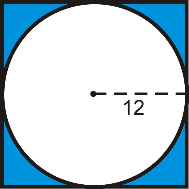Find the area of the shaded region Round your answer to the nearest hundredth