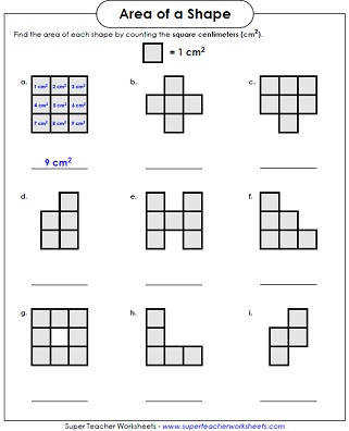 Area Counting Squares