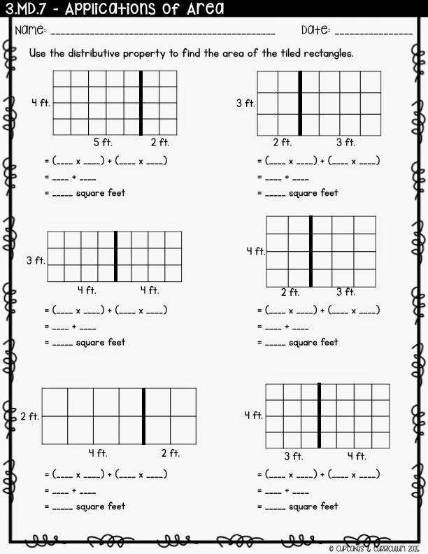 Area Worksheets For 3rd Grade Irade Co