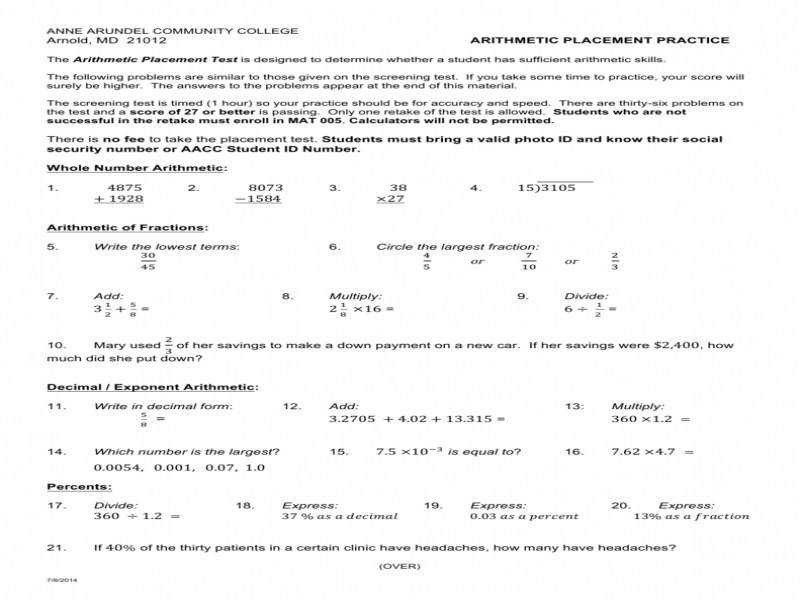 Geometric And Arithmetic Sequences Worksheet Basic Addition And